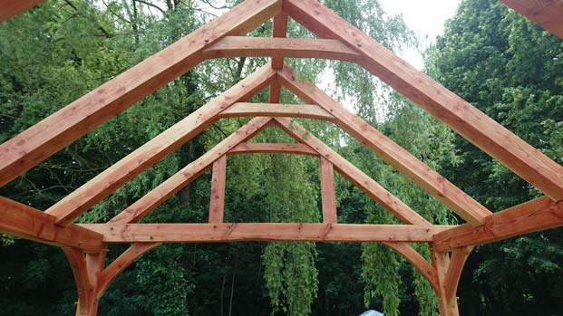 Architectural Oak Truss